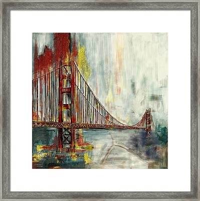 Golden Gate Bridge 218 4 Framed Print