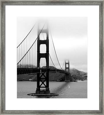 Golden Gate Bridge Framed Print by Federica Gentile