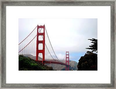 Golden Gate Bridge Full View Framed Print