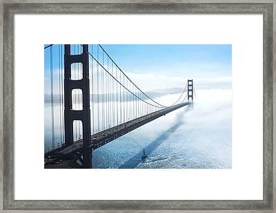 Golden Gate Bridge Framed Print by Happy Home Artistry
