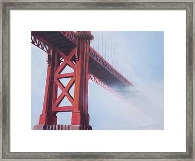 Golden Gate Bridge Framed Print by Kean Butterfield
