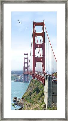 Golden Gate Bridge Framed Print by Mike McGlothlen