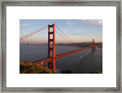Golden Gate Bridge Framed Print by Nathan Rupert