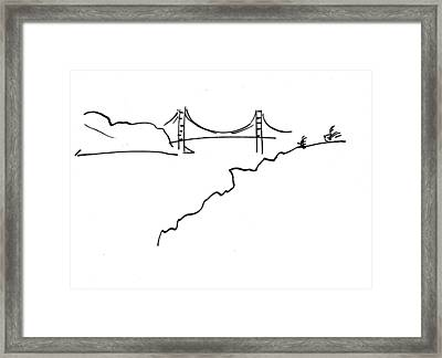 Golden Gate Bridge Framed Print by Patrick Morgan