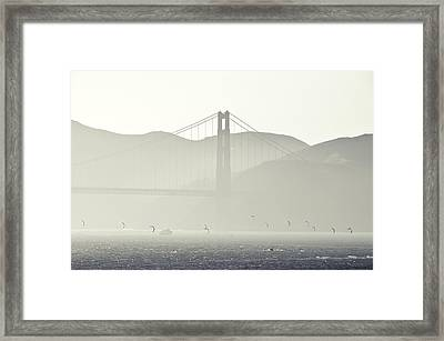 Golden Gate Bridge Framed Print by Paul Plaine