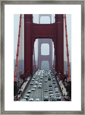 Golden Gate Bridge, San Francisco Framed Print