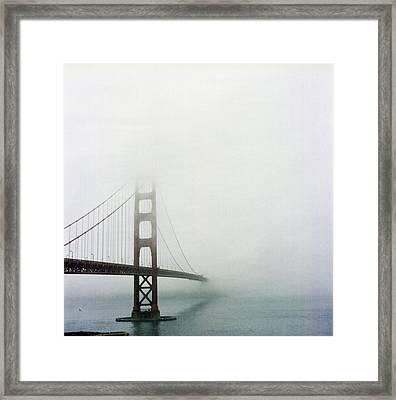 Golden Gate Bridge, San Francisco, California Framed Print by Tuan Tran