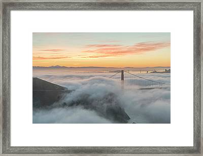 Golden Gate Framed Print by Exquisite Oregon