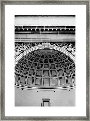 Golden Gate Music Concourse- Art By Linda Woods Framed Print