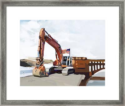 Golden Gate One Framed Print by Brad Burns