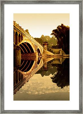 Golden Gate Framed Print by Royce Gorsuch