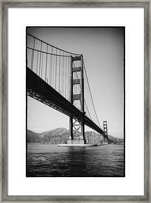 Golden Gate Framed Print by Tanya Harrison
