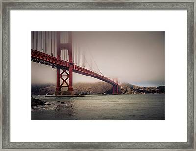 Golden Gate Framed Print