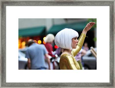 Golden Girl Framed Print by Joe Longobardi