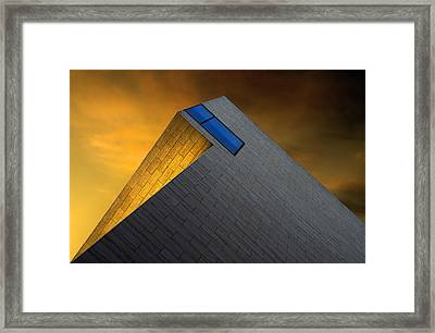 Golden Glow Framed Print by Gilbert Claes