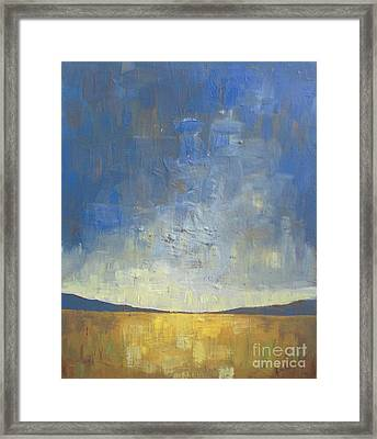 Golden Glow Framed Print by Vesna Antic