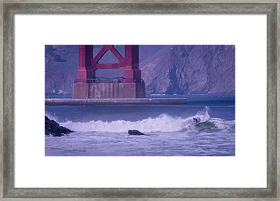 Golden Hack Framed Print by Cameron Howard