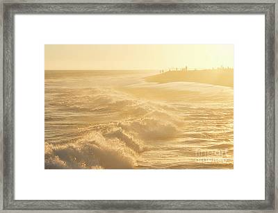 Golden Hour At The Wedge Framed Print