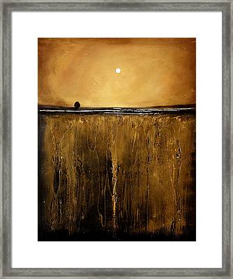 Golden Inspirations Framed Print by Toni Grote