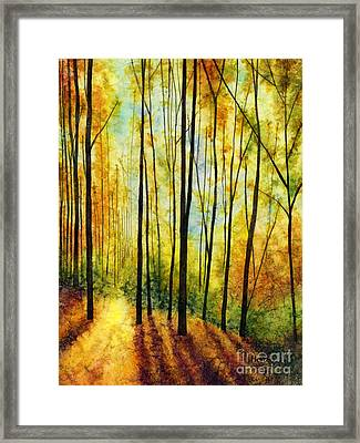 Golden Light Framed Print by Hailey E Herrera