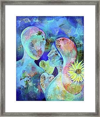 Golden Memories Framed Print