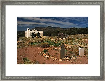 Golden Mission Framed Print by Jerry McElroy