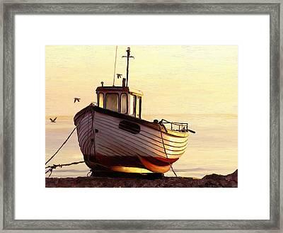 Golden Moment Framed Print