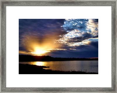 Golden Moment Framed Print by Karen M Scovill