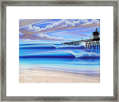 Golden Moment Framed Print by Michael  Brindley