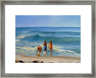 Golden Moment Framed Print by Yvonne Dagger