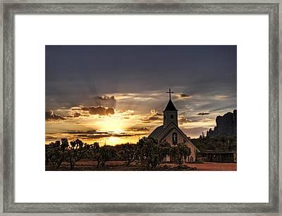 Golden Morning Light  Framed Print by Saija  Lehtonen