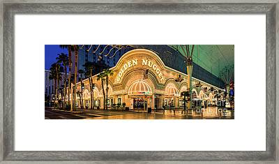 Golden Nugget Casino Entrance Framed Print