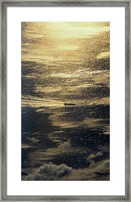 Golden Ocean Framed Print