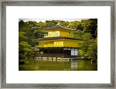 Golden Palace Framed Print by Sebastian Musial