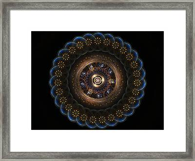 Golden Paradox Framed Print