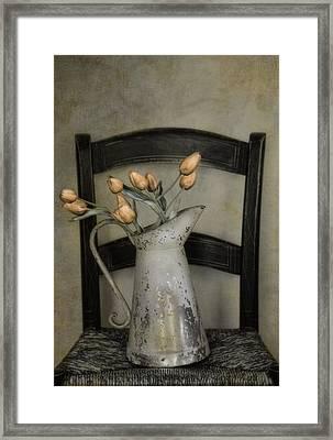 Golden Framed Print by Robin-Lee Vieira