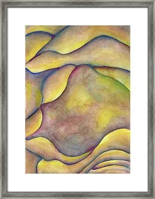 Golden Rose Framed Print by Versel Reid