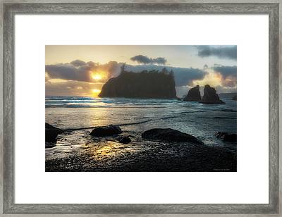 Framed Print featuring the photograph Golden Ruby by Expressive Landscapes Fine Art Photography by Thom
