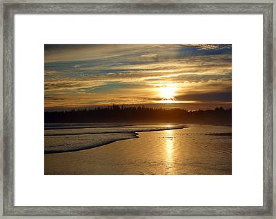 Long Beach, British Columbia Framed Print