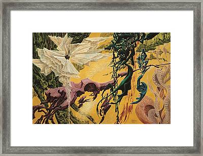 Golden Sea Framed Print