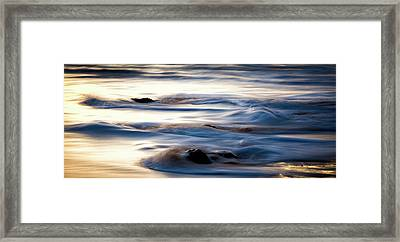 Golden Serenity Framed Print