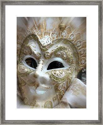 Golden Shimmers Framed Print