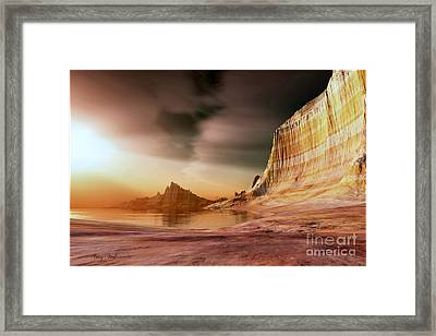 Golden Shores Framed Print by Corey Ford