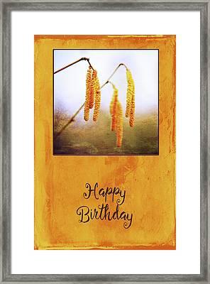 Golden Spring Framed Print by Randi Grace Nilsberg