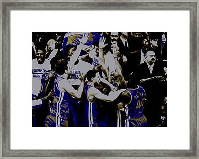 Golden State Warriors 2015 Finals Framed Print