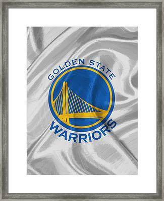 Golden State Warriors Framed Print by Afterdarkness