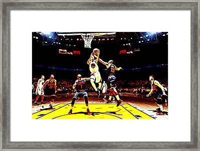 Golden State Warriors Shaun Livingston Framed Print by Brian Reaves