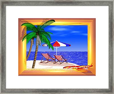 Golden Summer Framed Print by Andreas Thust