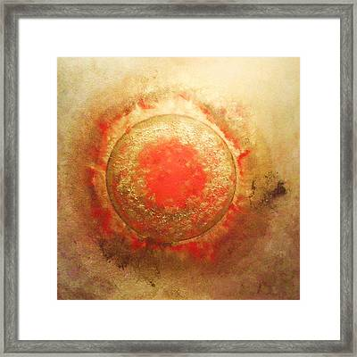Golden-suneruption Framed Print by Ramon Labusch