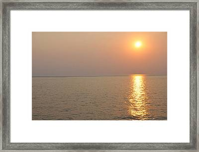 Golden Sunrise Framed Print by Bill Perry